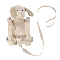Goldbug plush character harnesses